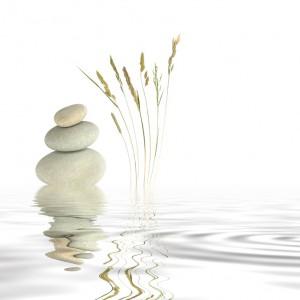 Pebbles on a ripple