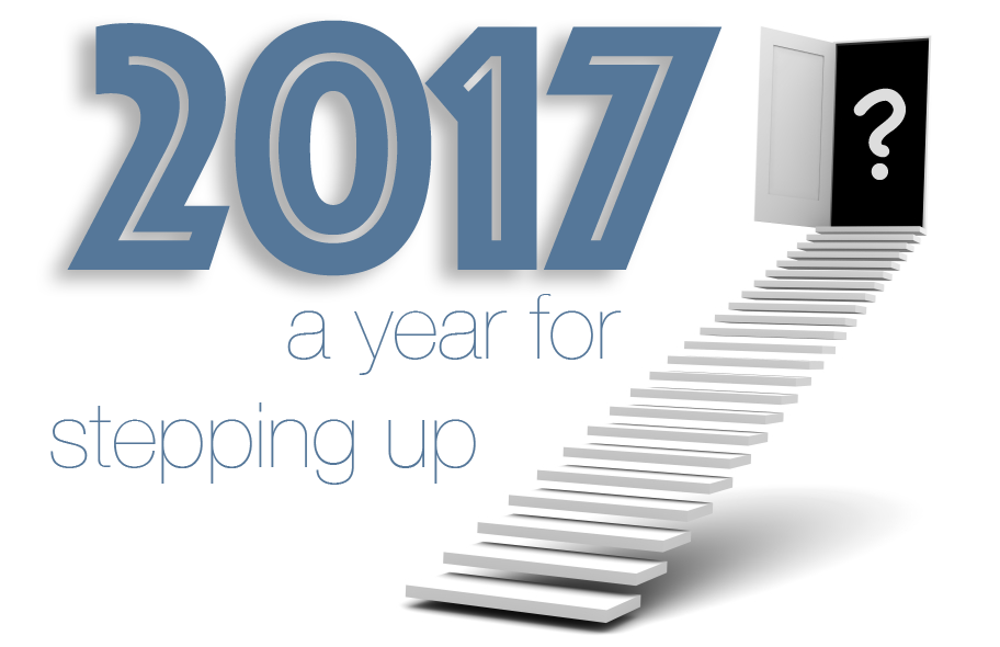 A Year for Stepping Up