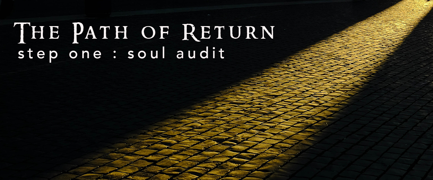 Step One Soul Audit