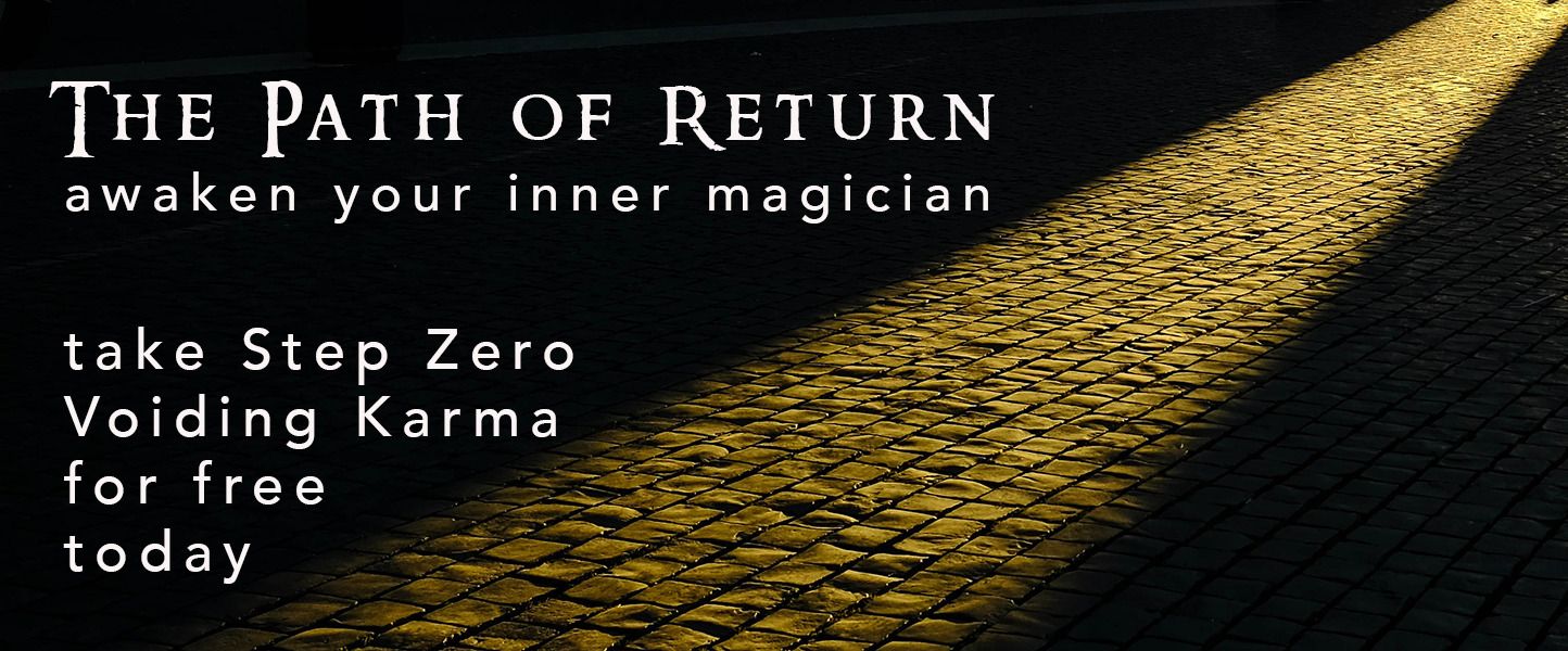 Path of Return Take Step Zero Voiding Karma
