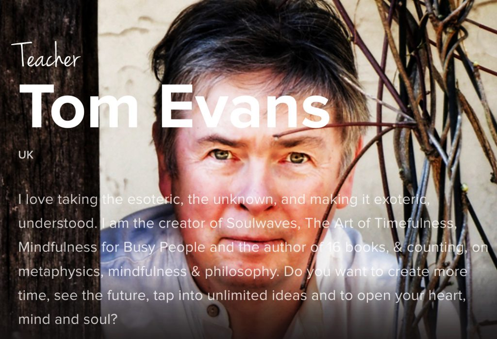 Tom Evans Meditation Teacher