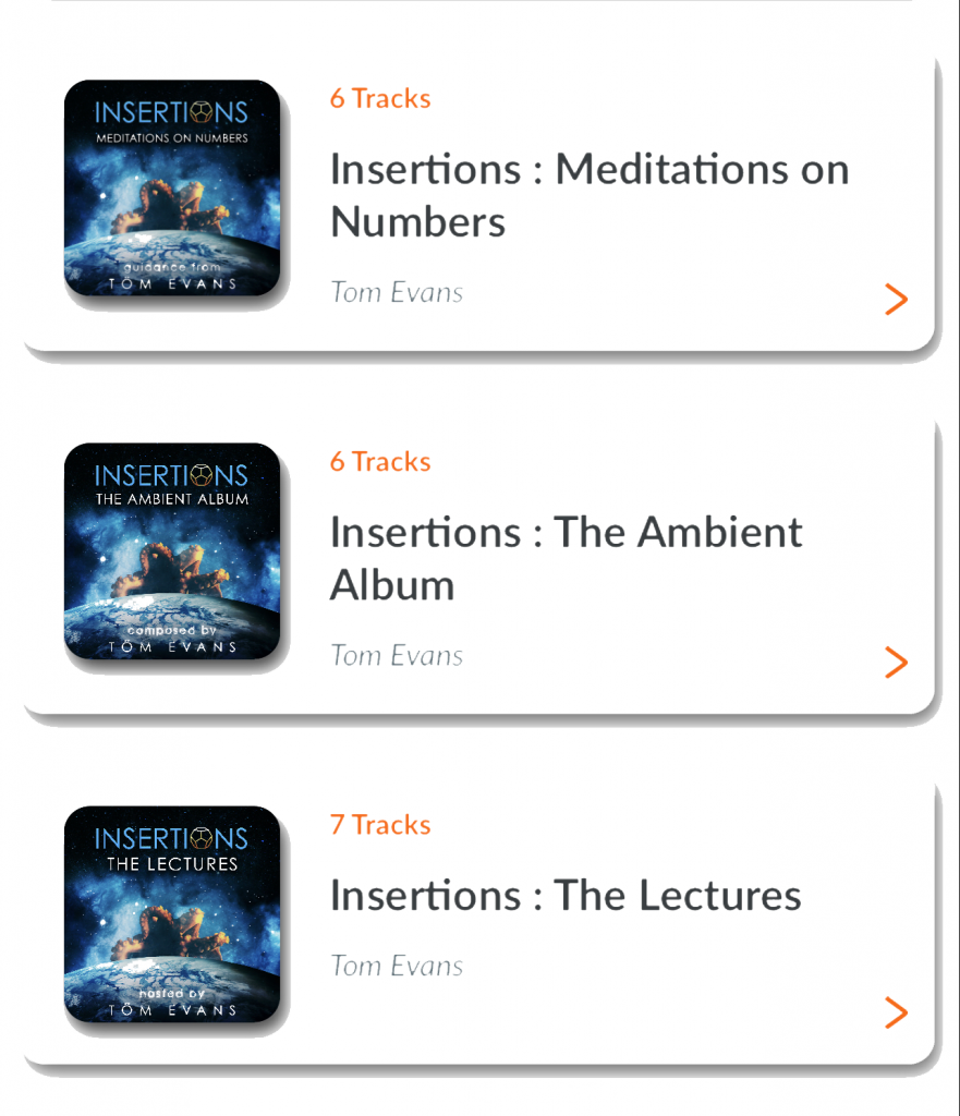 Soulwaves Insertions Meditations and Music